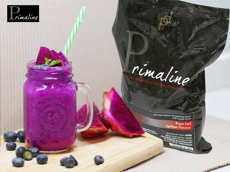 Primaline Lychee Dragon Fruit Smoothie