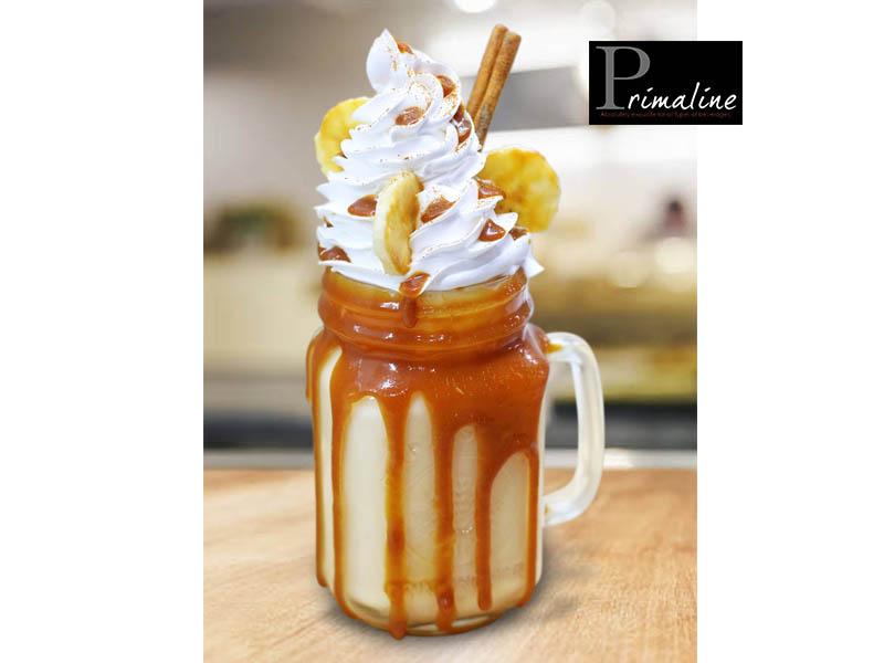 Primaline Caramel Banana Freakshake
