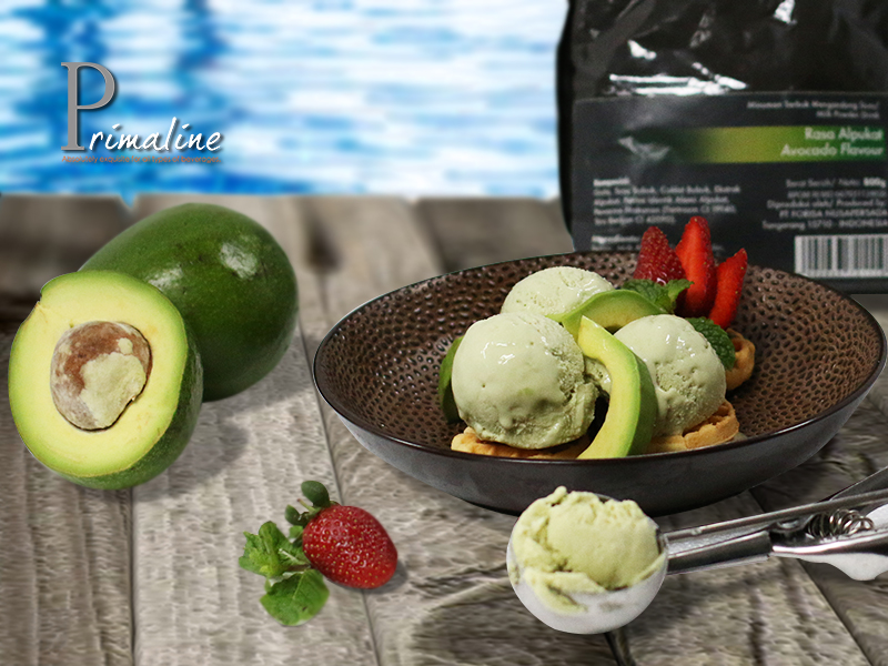 Primaline Avocado Ice Cream