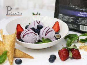Primaline Blueberry Ice Cream