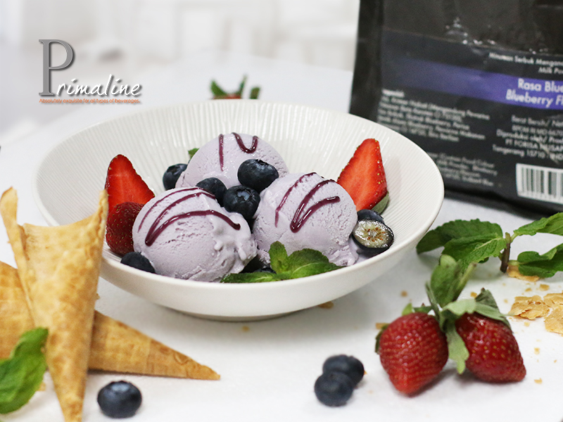 Primaline Blueberry Ice Cream