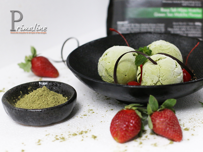 Primaline Matcha Ice Cream